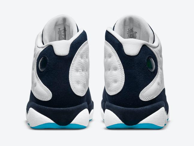 AJ13黑曜石经典球鞋 Air Jordan 13 Obsidian AJ13OG白黑高帮球鞋复刻 货号:414571-144-潮流者之家