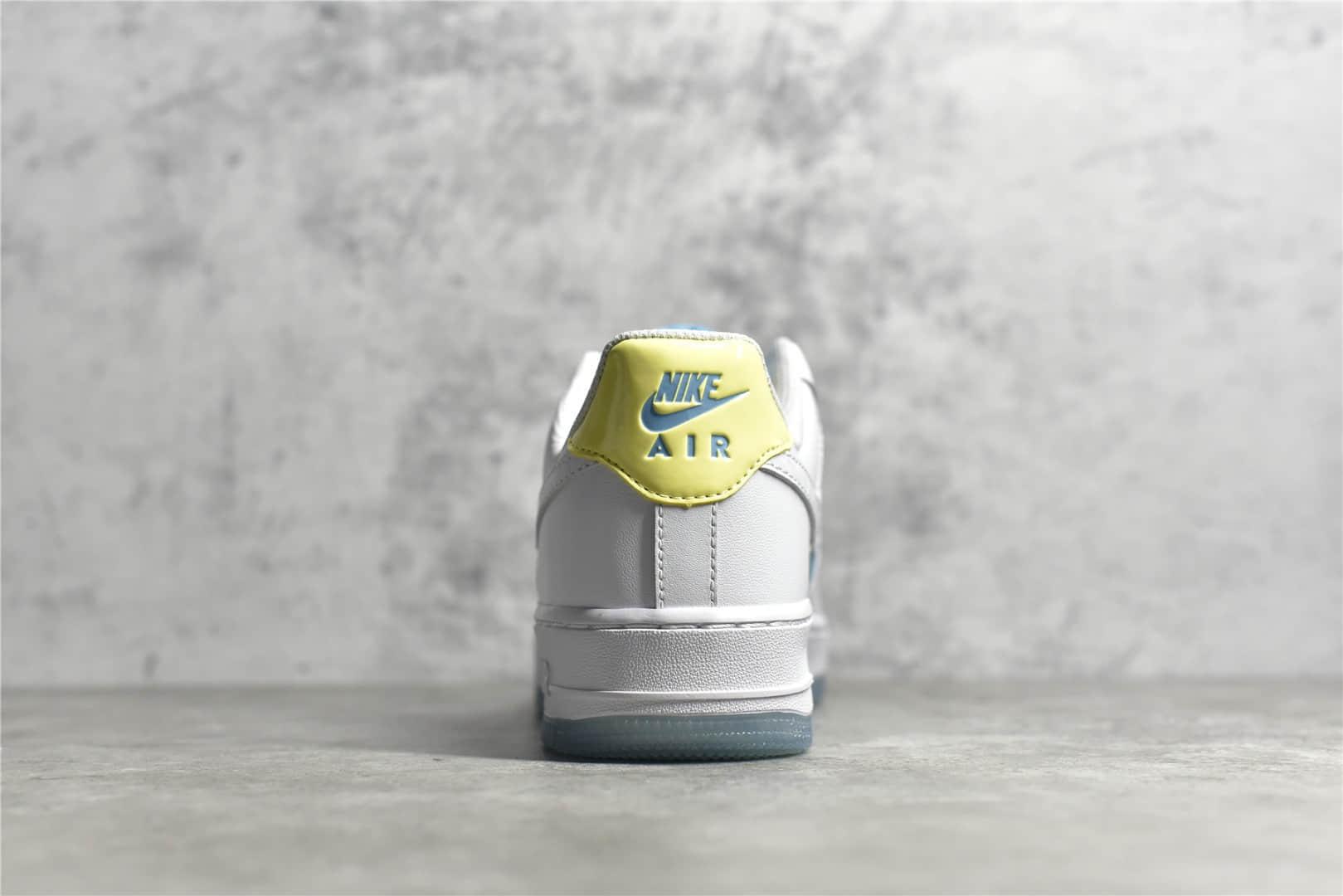 耐克空军钻石联名 Nike Air Force 1 Low 莆田纯原版本耐克红军白蓝麂皮低帮 货号:AA7687-400-潮流者之家