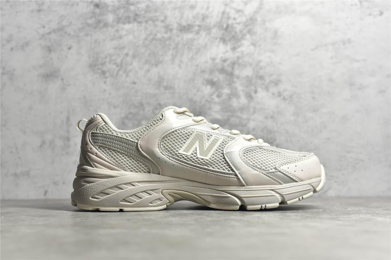 新百伦NB530米白色公司级版本 NB530 New Balance 530 新百伦米白色跑鞋 NB总统跑鞋 货号:MR530SG-潮流者之家