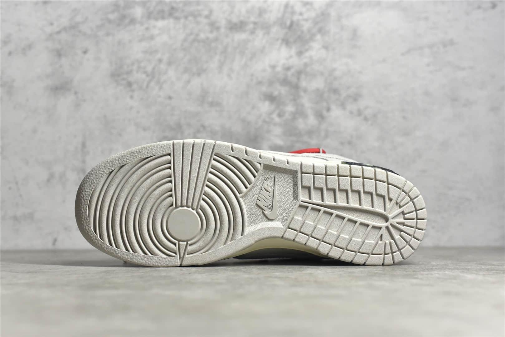 耐克SB Dunk OW联名红鞋带 Off-White™ x Nike SB Dunk Low