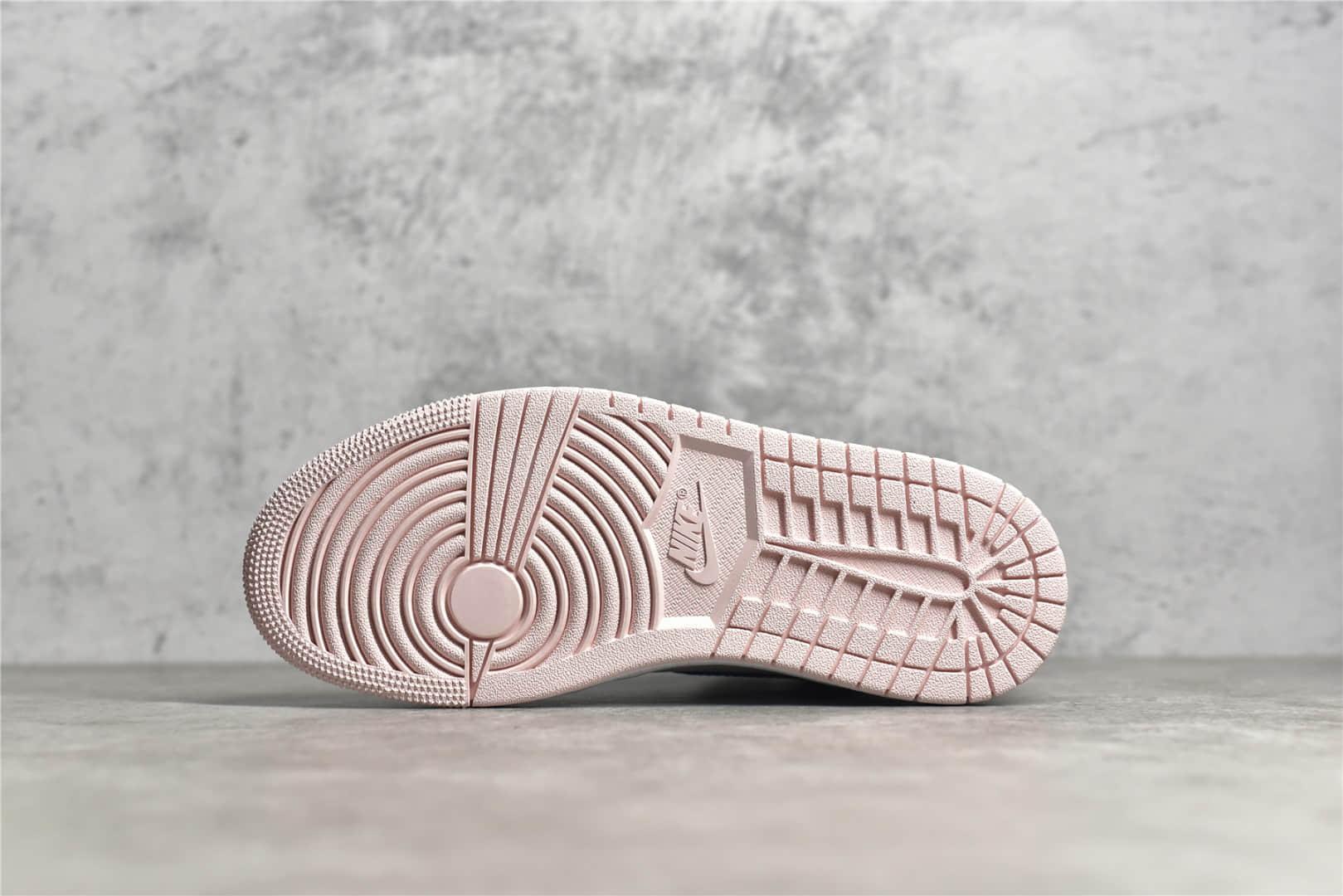 AJ1白蓝粉高帮H12纯原版本 Air Jordan 1 AJ1粉色脚趾 最好的AJ1复刻 货号:DD9335-641-潮流者之家