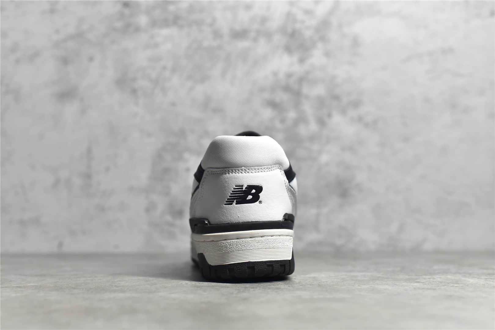 新百伦BB550复古跑鞋 New Balance BB550 新百伦复古低帮休闲运动篮球板鞋 货号:BB550LM1-潮流者之家