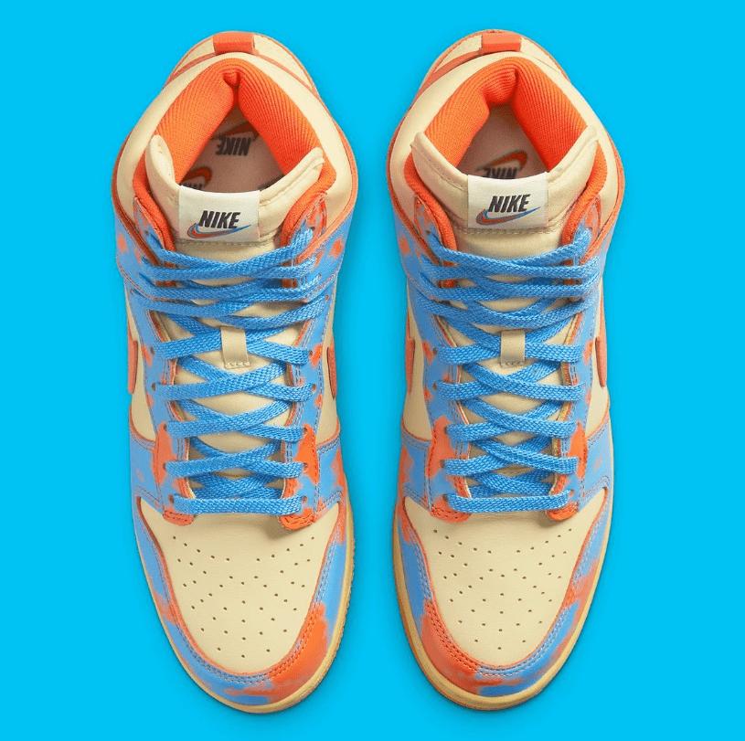 耐克Dunk酸洗做旧全新配色 Nike Dunk High