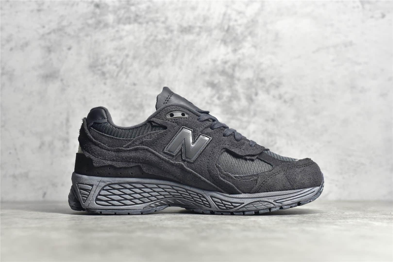 新百伦NB2002R幻影黑 New Balance 2002R 新百伦黑色跑鞋 公司级NB跑鞋货源 货号:M2002RDB-潮流者之家